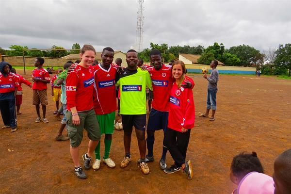Edusport Zambia 2015