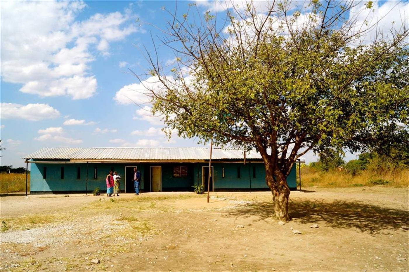 Skole i Kalingalinga Zambia